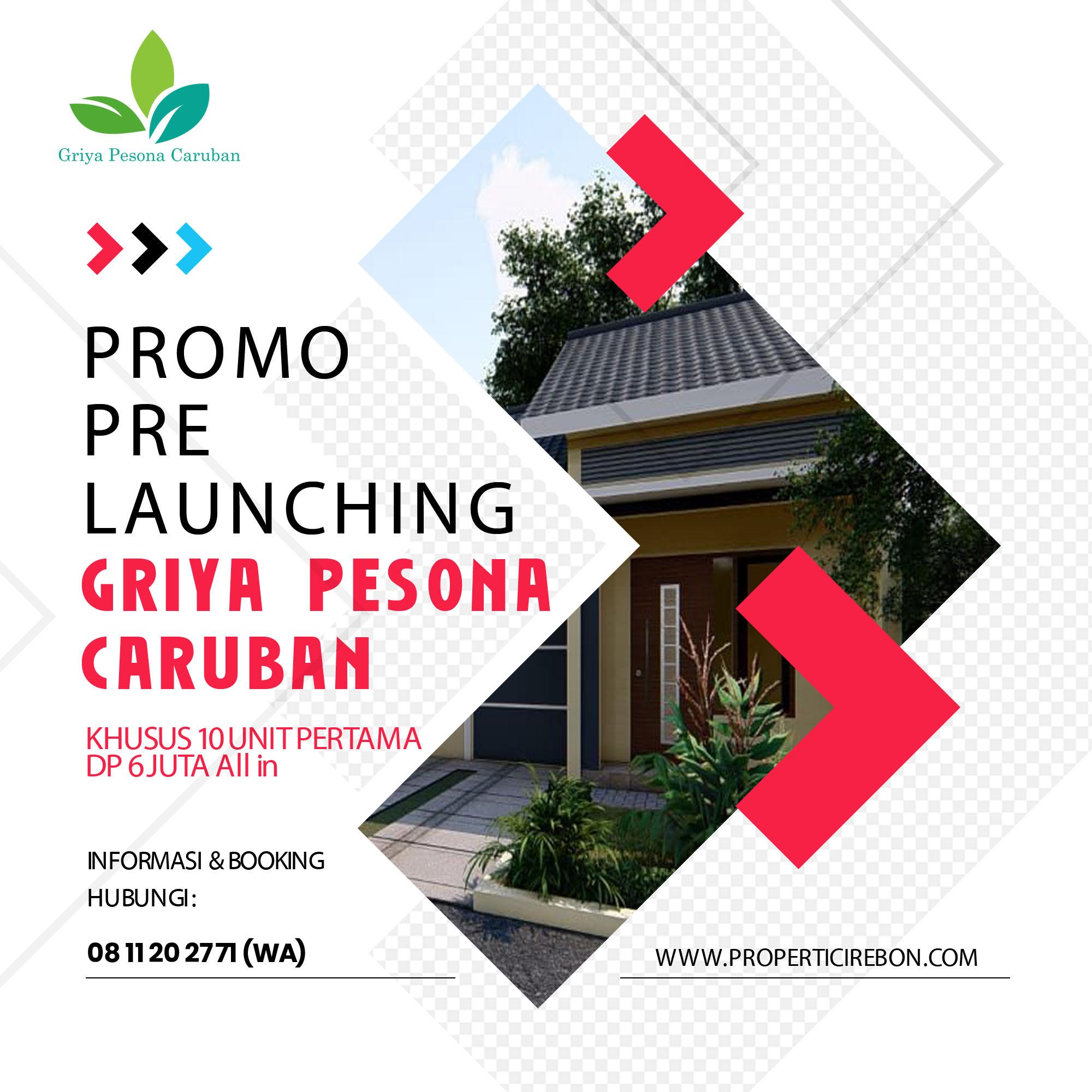 Bidik Milenial, Griya Pesona Caruban Promo Pre Launching