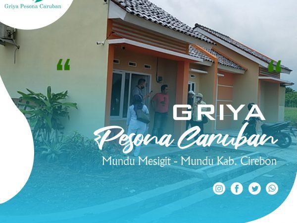 Rumah  Subsidi di Cirebon Griya Pesona Caruban, Mundu DP 6 Juta All in