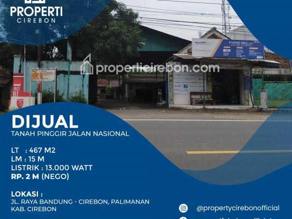 Eks Bengkel di Palimanan Cirebon cocok untuk Gudang, Murah !!