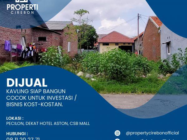 Tanah Dijual Cirebon Dekat CSB Mall Cocok Untuk Kos Kosan