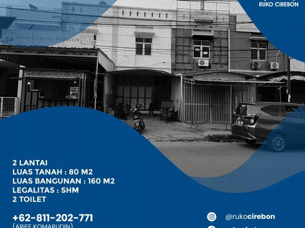 Jual Ruko Pusat Kota Cirebon Murah!!