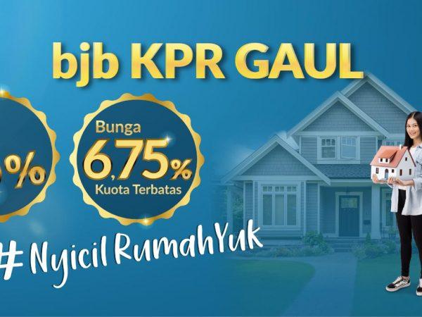 BJB Luncurkan Program Promo bjb KPR Gaul