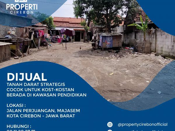 Tanah Strategis di Jalan Perjuangan Kota Cirebon Cocok Untuk Bisnis Kost-kostan